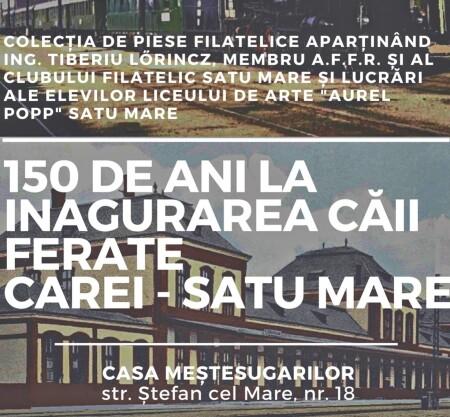 150 de ani la inagurarea căii ferate Carei - Satu Mare