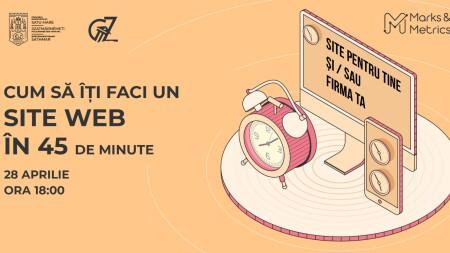 Cum să îți faci un site web în 45 de minute