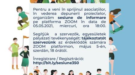 Sesiune de informare finanțare nerambursabilă
